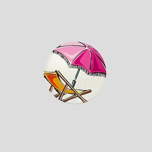 BEACH CHAIR [3] Mini Button